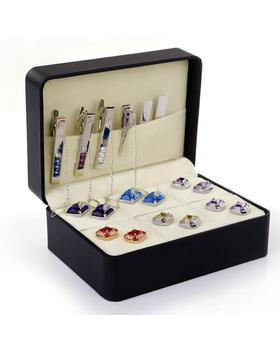 Šperkovnica na manžetové gombíky 6 kusov