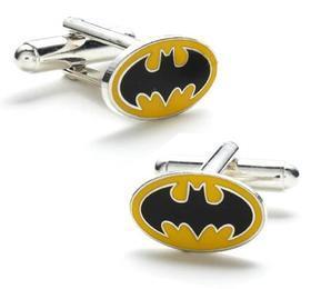 Manžetové gombíky Batman žlté