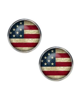 Manžetové gombíky farebné USA