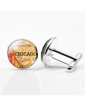 Manžetové gombíky Chicago