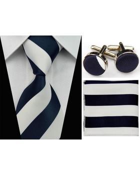 Manžetové knoflíčky s kravatou Néreus A048