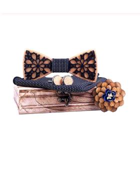 Manžetové gombíky s motýlikom Levandules