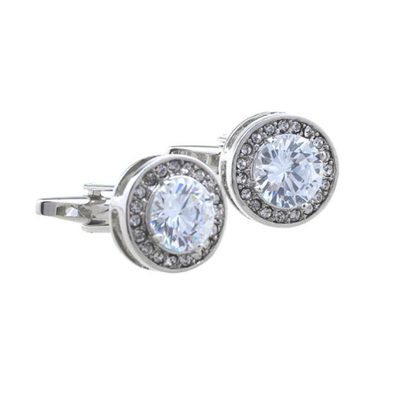 Manžetové gombíky diamant - 1