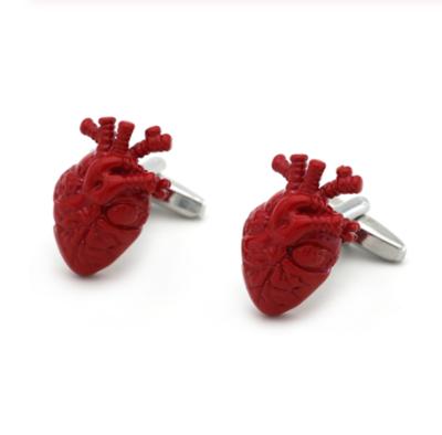 Manžetové gombíky pre kardiológov