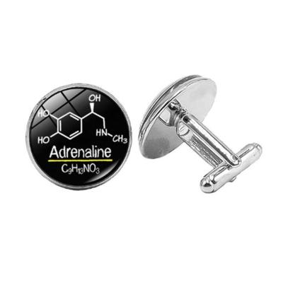 Manžetové gombíky chémia adrenalín