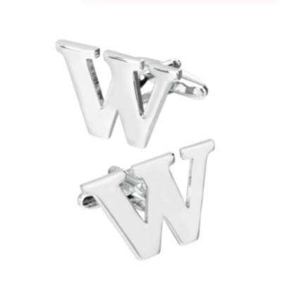 Manžetové gombíky písmeno W
