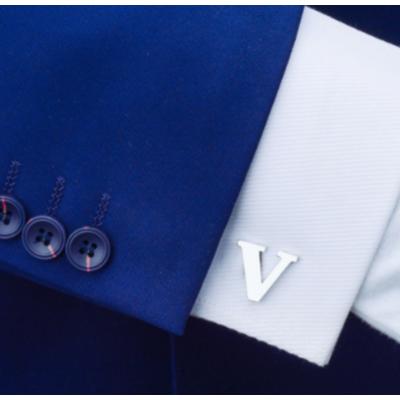 Manžetové gombíky písmeno V