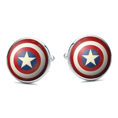 Manžetové gombíky kapitán amerika avenger - 1