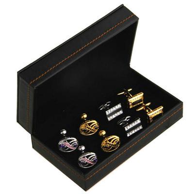 Krabička na manžetové gombíky - 4 ks