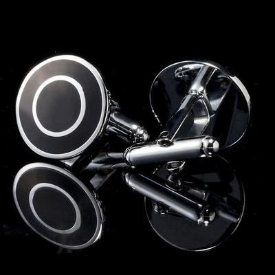 Manžetové gombíky čierny terč