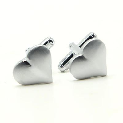 Manžetové gombíky valentínske srdce