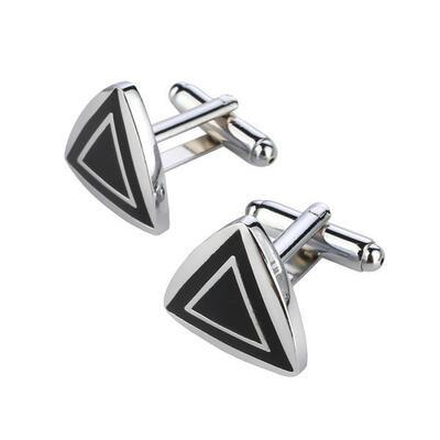 Manžetové gombíky fashion trojuholník