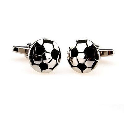 Manžetové gombíky fotbal