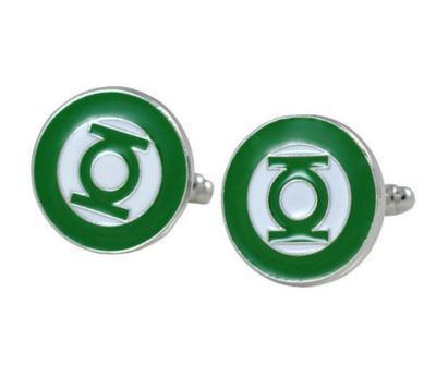 Manžetové gombíky Green Lantern - 1