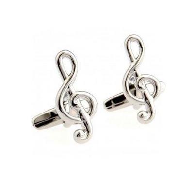 Manžetové gombíky husľový kľúč Strauss