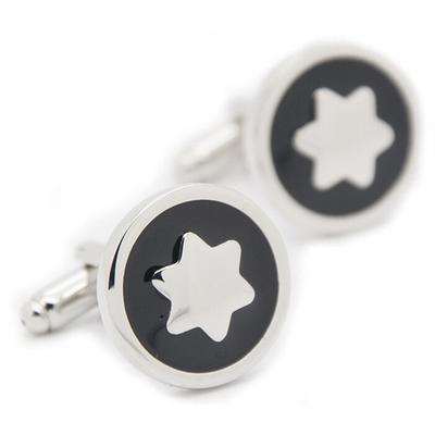 Manžetové gombíky hvezda - 1