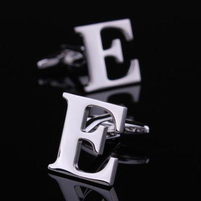Manžetové gombíky písmeno E
