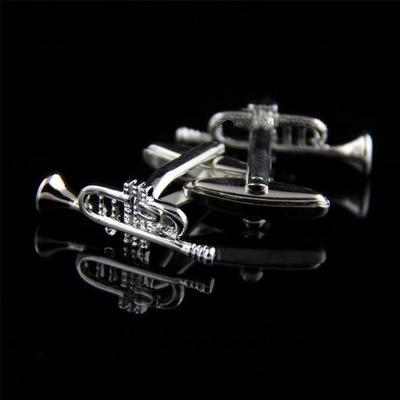 Manžetové gombíky jazzové rúrky