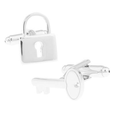 Manžetové gombíky zámok a kľúč