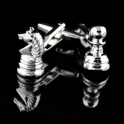 Manžetové gombíky šach