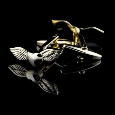 Manžetové gombíky anjelské krídla gold