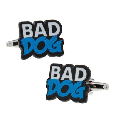 """Manžetové gombíky zlý pes """"Bad dog"""""""