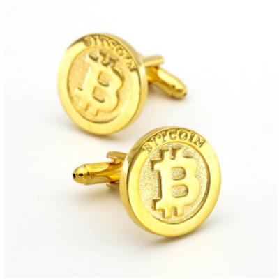 Manžetové gombíky Bitcoin
