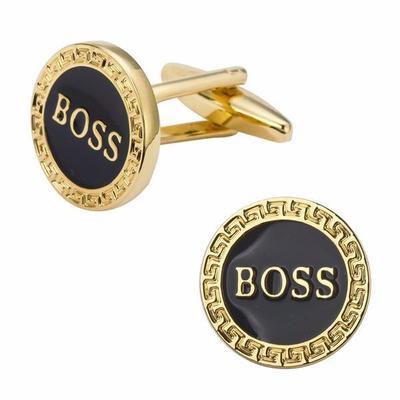 Manžetové gombíky BOSS gold