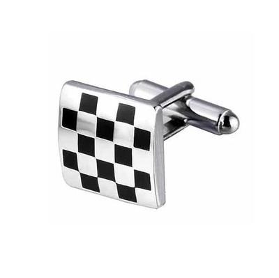 Manžetové gombíky šachovnica - 1