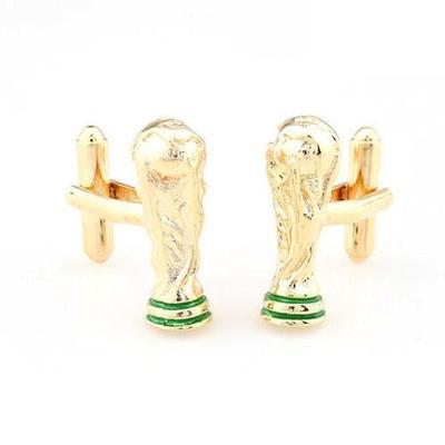 Manžetové gombíky FIFA World Cup gold