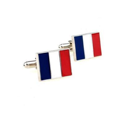 Manžetové gombíky francuzká vlajka