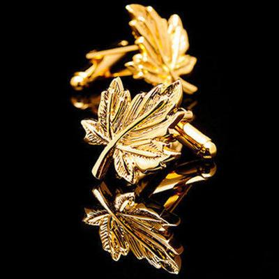 Manžetové gombíky javorový list