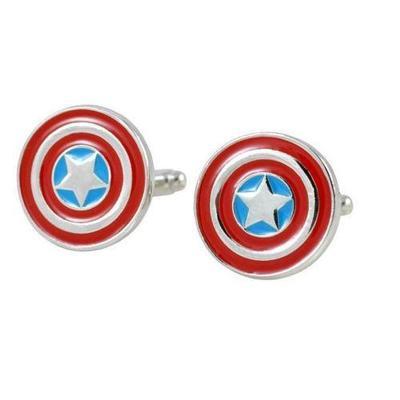 Manžetové gombíky kapitán Amerika