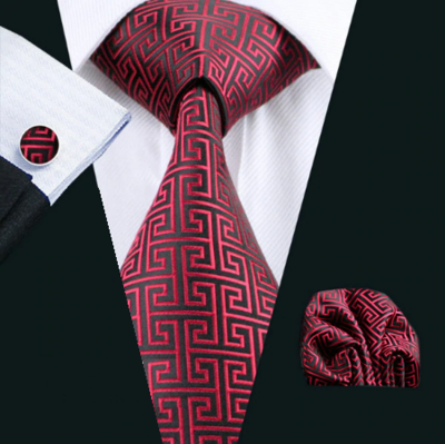 Manžetové gombíky s kravatou Thanatos 1