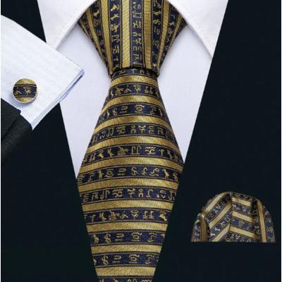 Manžetové knoflíčky s kravatou Iris A039