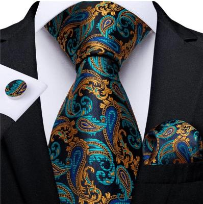 Manžetové gombíky s kravatou Hébé