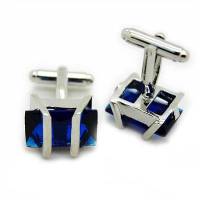 Manžetové gombíky Gemstone modrý