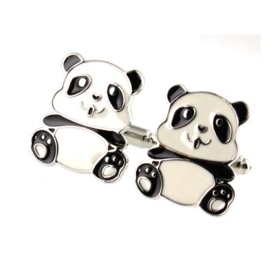 Manžetové gombíky panda