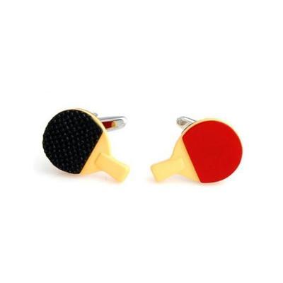 Manžetové gombíky ping pong stolný tenis