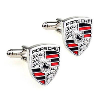 Manžetové gombíky Porsche silver