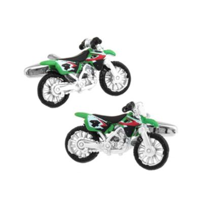 Manžetové gombíky motorka crosska