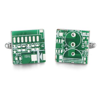Manžetové gombíky čip