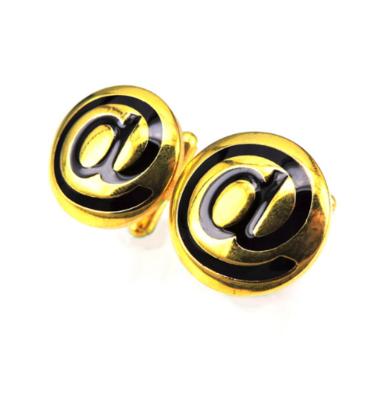 Manžetové gombíky zavináč zlatý