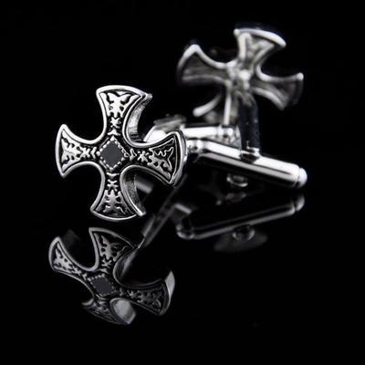 Manžetové gombíky zdobený kríž