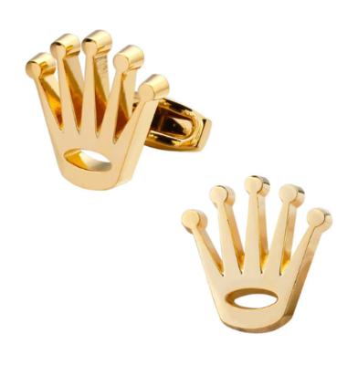 Manžetové gombíky zlatá korunka