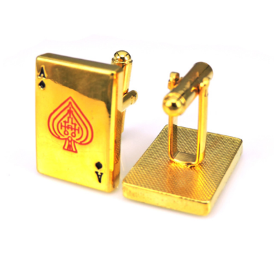 Manžetové gombíky zlaté eso