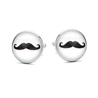 Manžetové gombíky Movember - 1