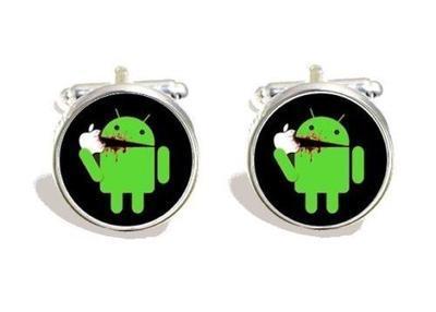 Manžetové gombíky - Apple vs Android 0119