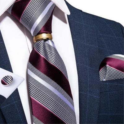 Manžetové gombíky s kravatou Chronós A036