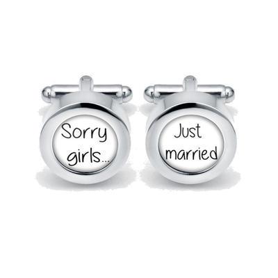Manžetové gombíky Sorry girls B - 1